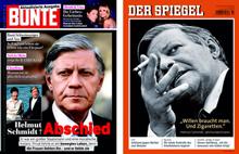 Helmut schmidt bunte gedenkt mit aktualisierter ausgabe for Spiegel aktuelle ausgabe