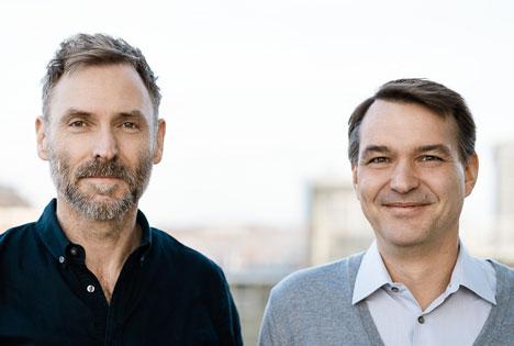 Markus Wolff (li.) und Jens Schröder sind die neuen Chefredakteure der Titel der Geo- und P. M.-Gruppen bei Gruner + Jahr/Foto: Guido Rottmann