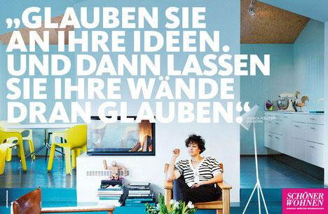 Werbekampagne für SCHÖNER WOHNEN • PRESSEREPORT ...